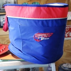Harley Davidson soft drink carrier tote